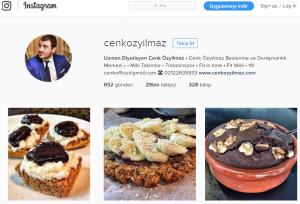 cenk özyılmaz instagram diyetisyen