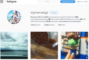merve tığlı çınar instagram diyetisyen