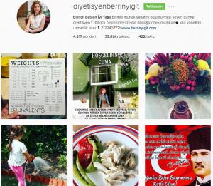 instagram diyetisyen berrin yiğit