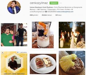 instagram diyetisyen cenk özyılmaz