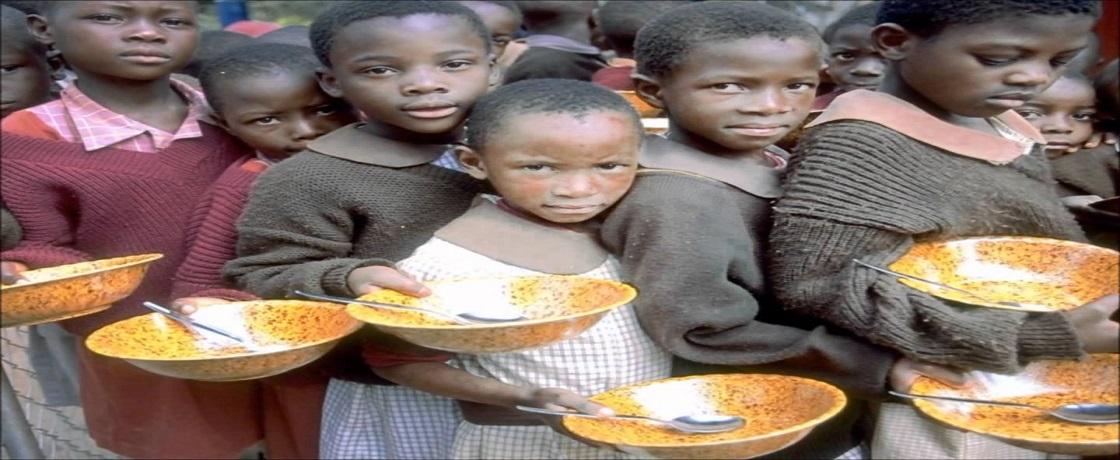 dünyada açlık, göç, kuraklık, savaş ve beslenme sorunları
