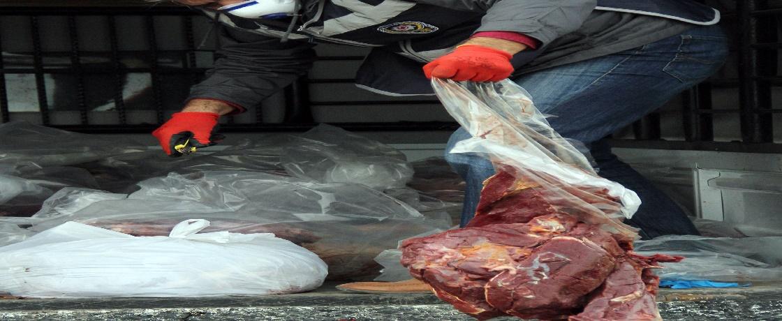 Siverek Belediyesi zabıta ekipleri, gıda güvenliği, halk sağlığı, kokuşmuş etler, mühürsüz etler, gıda gündemi