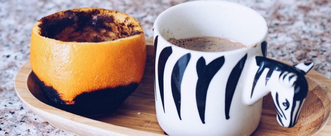 eskişehir portakallı türk kahvesi