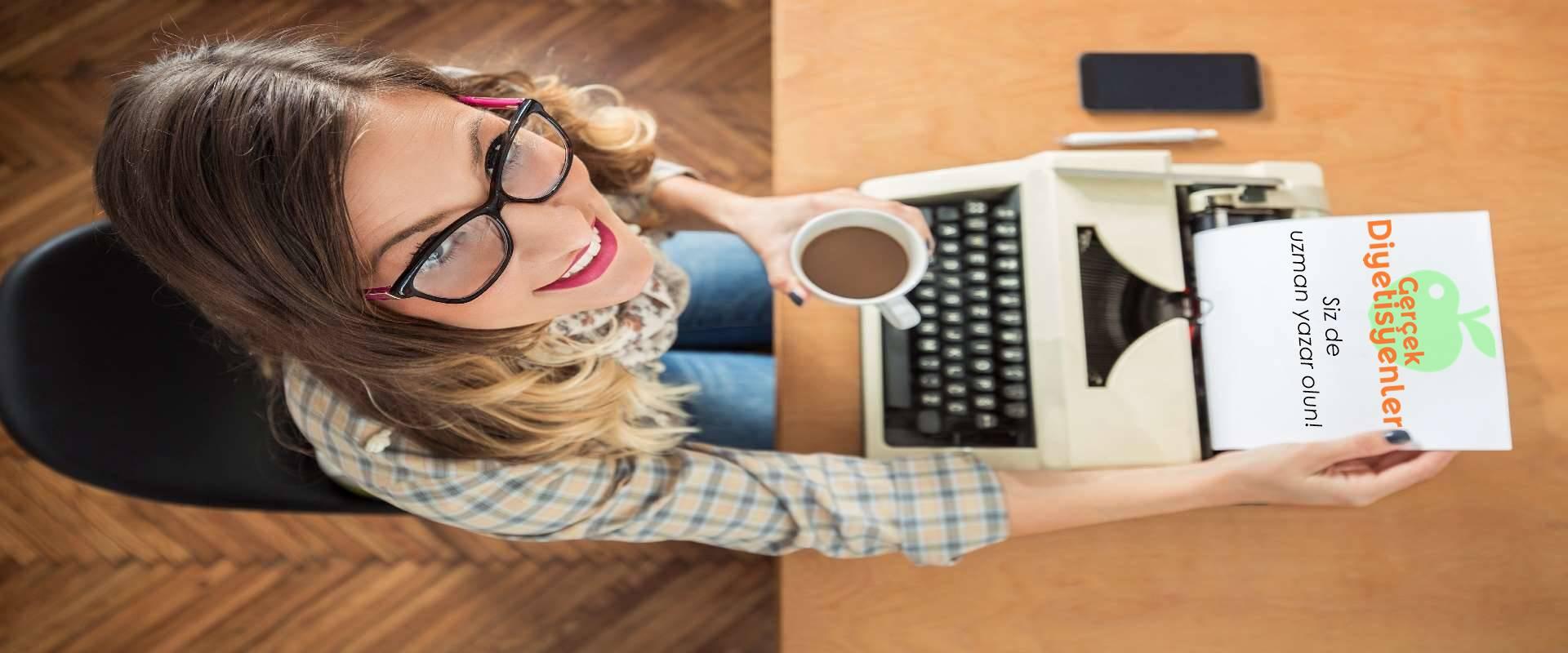 internet sitesinde yazar olmak