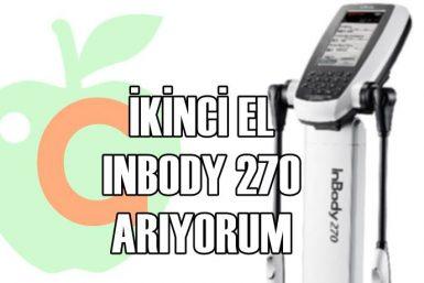 İKİNCİ EL İNBODY 270