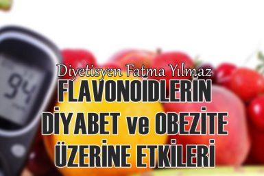 diyabet obezite flavonoidler fatma yılmaz diyetisyen