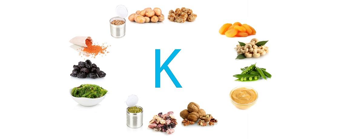 potasyum içeren besinler k