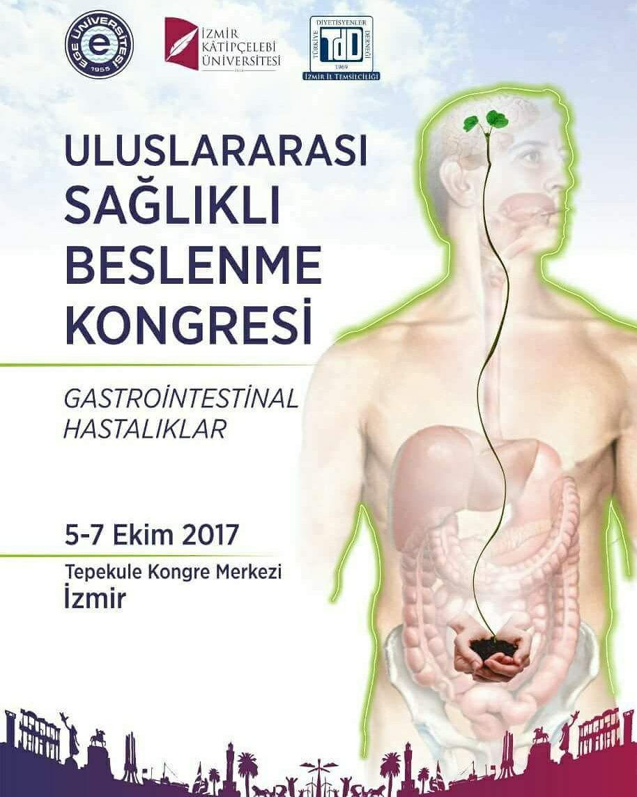 sağlıklı beslenme gastrointestinal kongre izmir