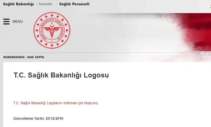 Sağlık Bakanlığı'nın yeni logosu