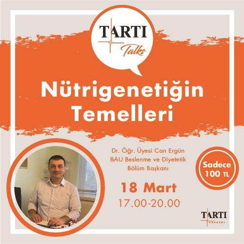 Nutrigenetiğin temelleri TARTI Eğitimi (1)