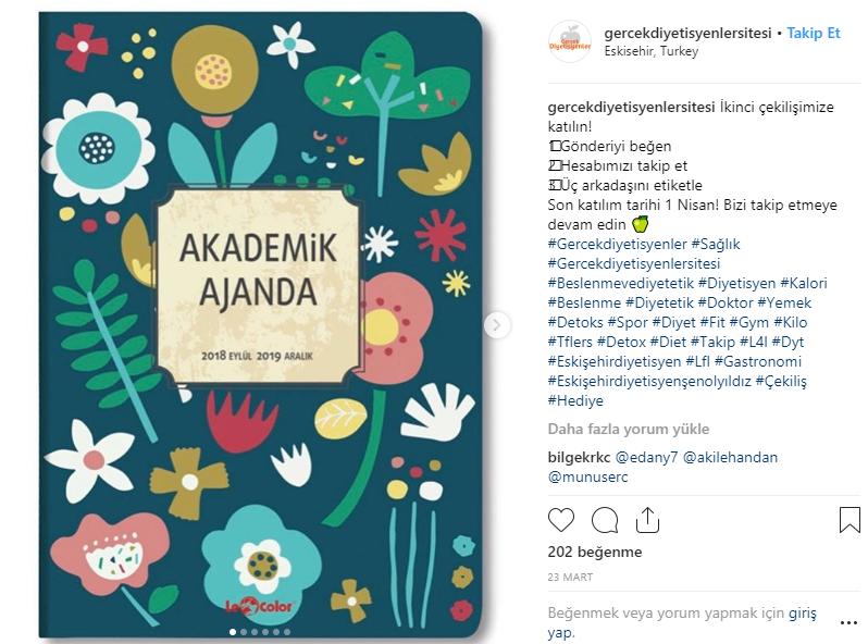 instagram çekiliş yap Gercek Diyetisyenler Sitesi Instagram Cekilis Sonucu Aciklandi Gercek Diyetisyenler Sitesi