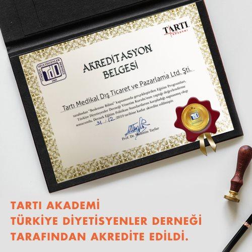 TARTI Medikal Eğitimleri Akredite