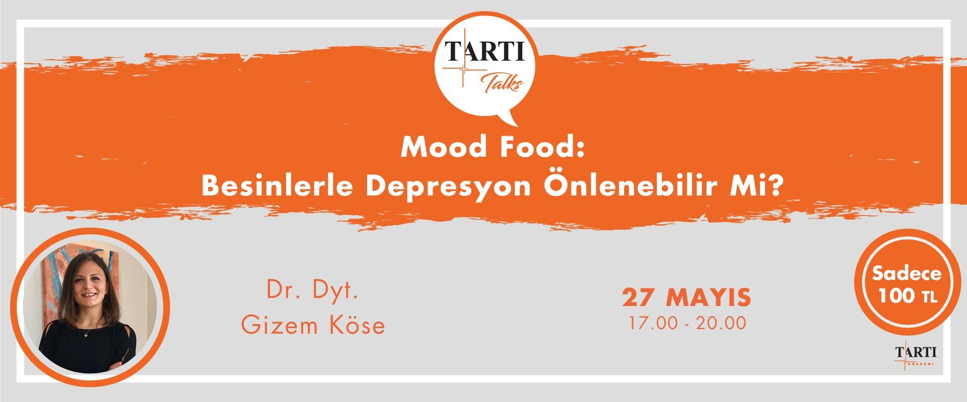 """Kalıcı bağlantı: """"Food Mood: Besinlerle Depresyon Önlenebilir mi?"""" eğitimi"""