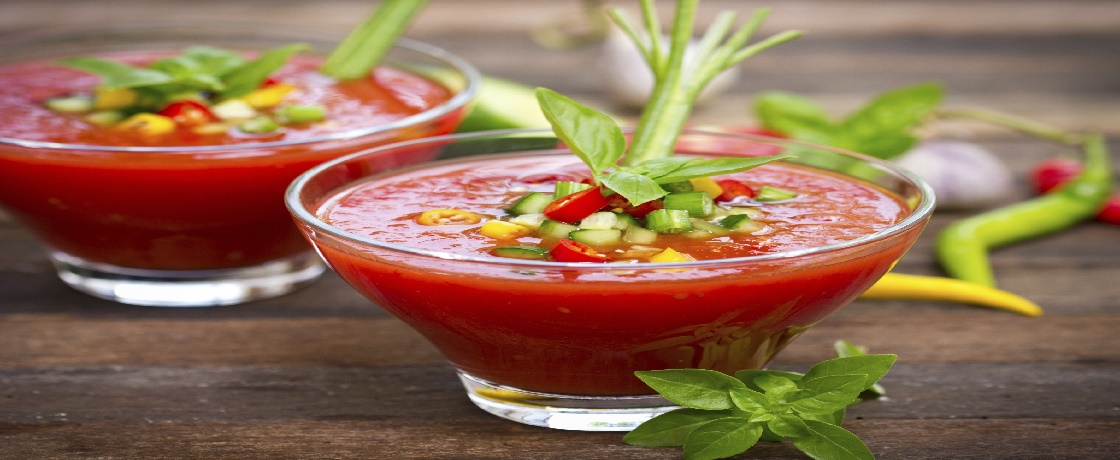 Gazpacho çorbası ispanyol