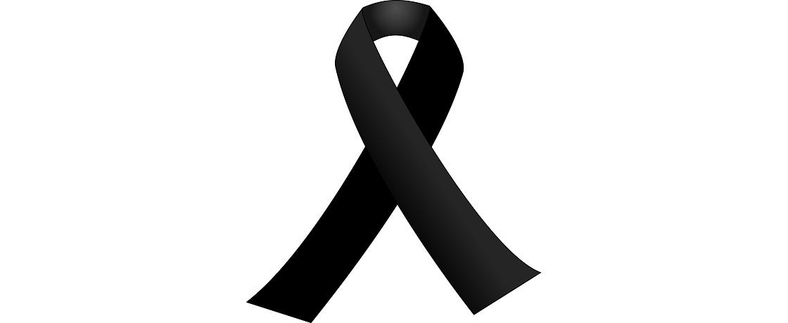 vefat baş sağlığı black ribbon siyah kurdele