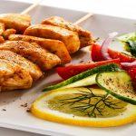 tavuk şiş, tavuk eti, sağlıklı yemek