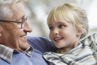 dede torun yaşlı beslenme
