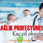 sağlık personeli doktor hekim eczacı kaç yıl okuyor
