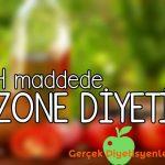 zone diyeti