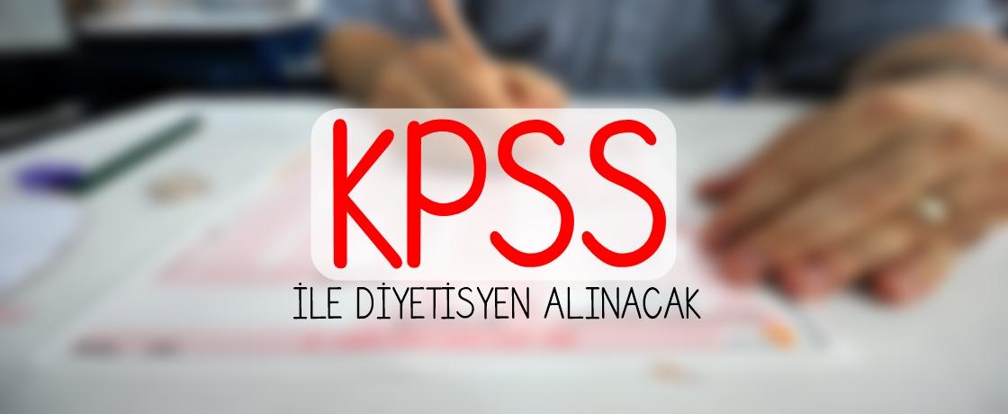 KPSS DİYETİSYEN