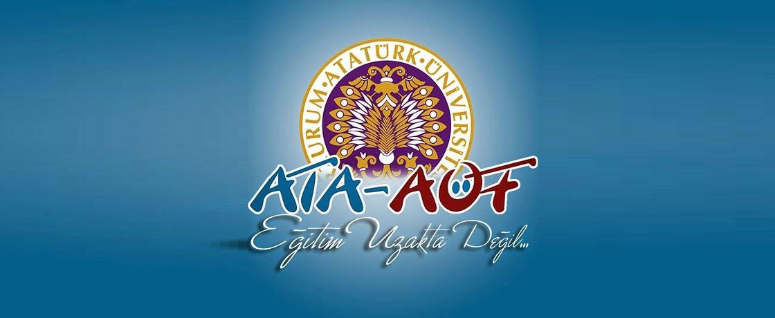 ATA AÖF Erzurum Atatürk Üniversitesi Açıköğretim