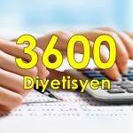 3600 Ek gösterge diyetisyen hekim hemşire eczacı fizyoterapist