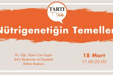 Nutrigenetiğin temelleri TARTI Eğitimi (3)